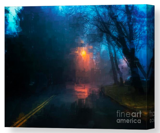The Light Shines ...canvas